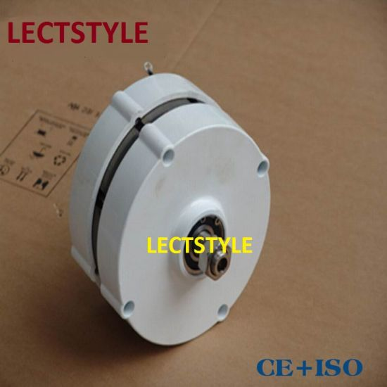 100w Ac 12v 24v Low Rpm Permanent Magnet Generator Alternator