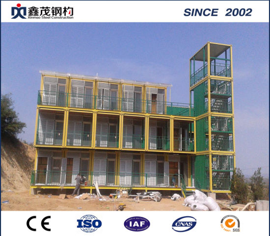 China Steel Frame Cabin House with Building Materials, Drawing and ...