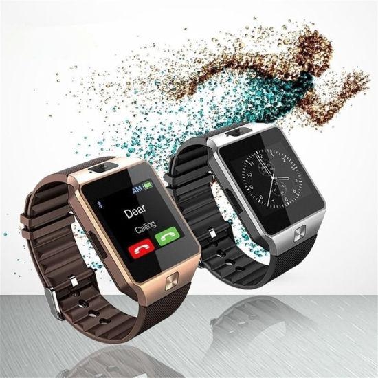 China 2018 Amazon Hot Selling Camera Sim Card Smartwatch Sport Dz09