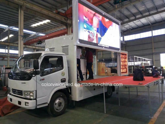Foton Lifting P10/P8/P6/P4.81 LED Screen Display Mobile Billboard Stage Truck Advertising for Sale