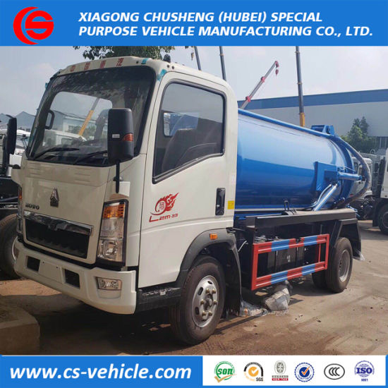 Sinotruk 3cbm -22cbm Fecal Suction Truck / Suction Septic Vacuum  Truck/Suction Sewage Truck for Sales
