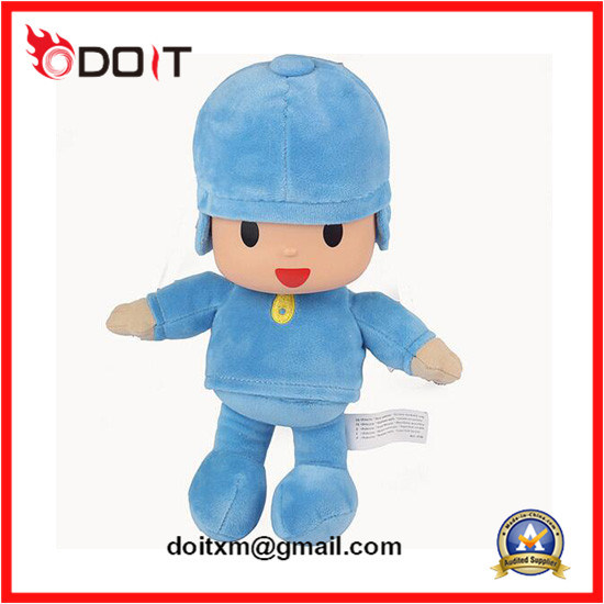 Ce/Cpsia Blue Baby Newborn Super Soft Stuffed Plush Toys pictures & photos