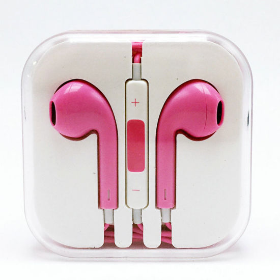 Colorful in-Ear Earphone for iPhone 6s with Mic & Volume Control pictures & photos