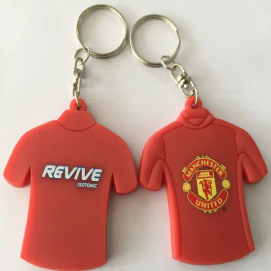 2016 Hot Sale Promotional Custom Silicone Keychain/Rubber Keychain/Key Ring with Competitive Price pictures & photos