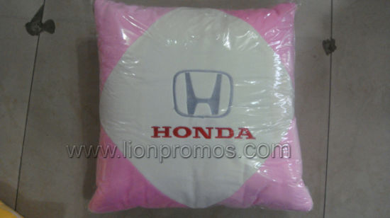 Car Promotional Gift Logo Embroidery Seat Cushion 40*40cm pictures & photos