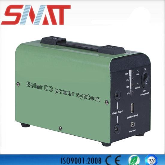 10W Portable DC Solar Power Lighting System
