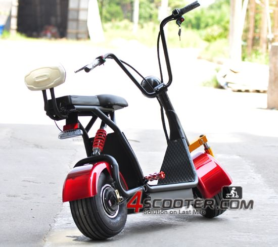 Automation E-Motorcycle with Big Seat Confort City Coco pictures & photos