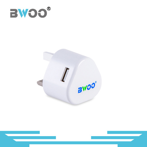 2 USB Ports Wall Charger with EU UK Us Plug pictures & photos