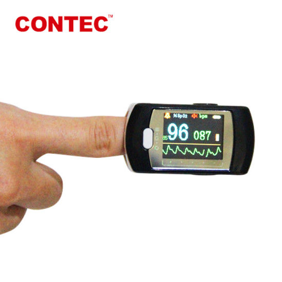 Bluetooth Wireless Pulse Oximeter with CE, FDA Certificate-Telemedicine Color Display Rechargeable pictures & photos