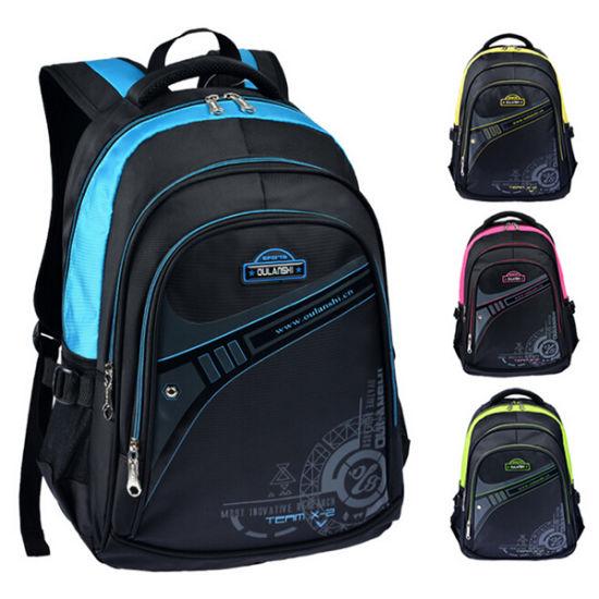 23cd46fcc4 China Black Sports Travel Backpack School Bag for Boys - China ...