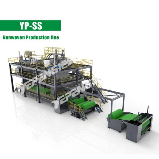 Ss Spunbond Non Woven Fabric Making Machine From Whenzhou