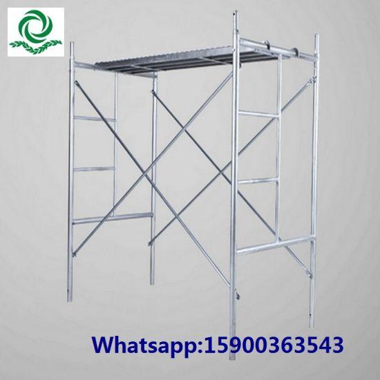 03f6c66ef8a536 China Steel Ladder H Frame Scaffolding System - China Scaffold ...