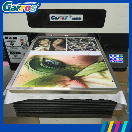 Garros A3 Digital Flatbed T-Shirt Printer Price pictures & photos