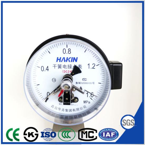 Yx-150g Reed Switch Electric Contact Pressure Gauge with Ce