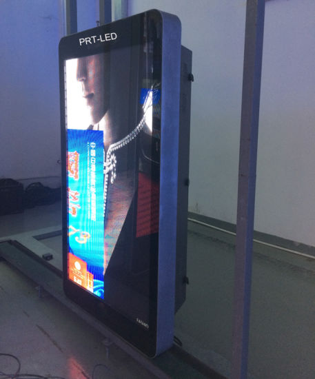 Full Color Outdoor LED Display HD P5 for Roadside Standing Poles pictures & photos