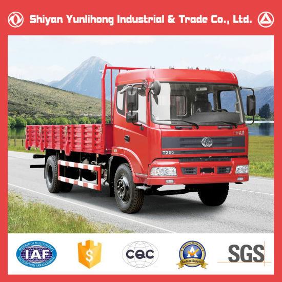 Shiyan Auto 4X2 Diesel Engine Truck Body / 16 Ton Cargo Truck