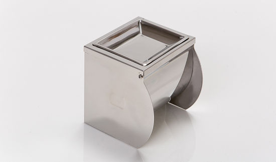 Stainless Steel Toilet Paper Holder with Ashtray (KW-A07) pictures & photos