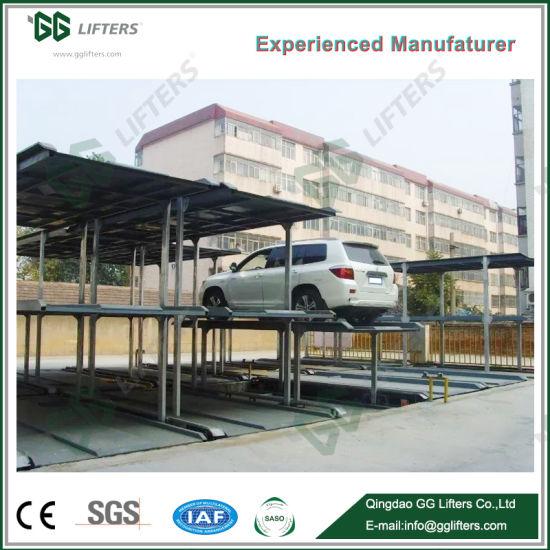 China Gg Lifters Basement Parking 2 3 4 Levels Pit Car Parking Lift