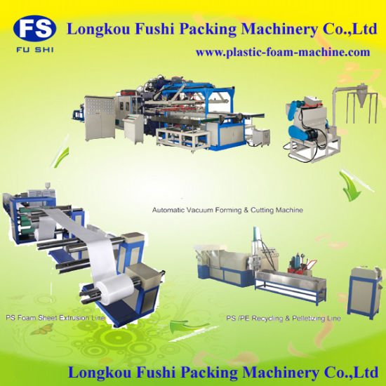 New Condition PS Foam Food/Lunch/Burger/Pizza Box/Container/Plate/Tray/Bowl Forming Machine