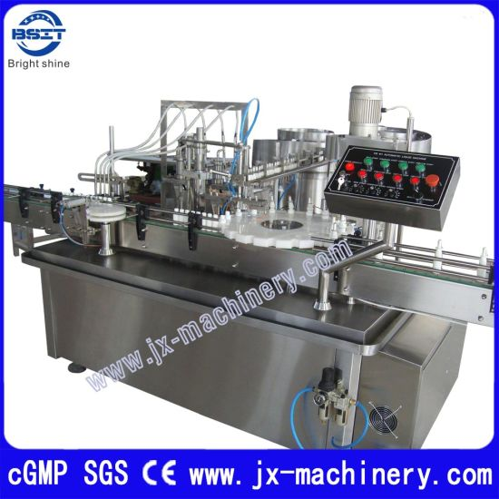 Spray Bottle Pharmaceutical Equipment Liquid Filling Capping Labeling Machine (10-30ml) pictures & photos