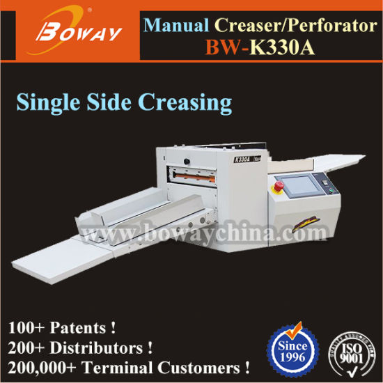 Boway Factory Manufacture Supplier Electric Digital A3 A4 Paper Creasing and Perforating Machine pictures & photos