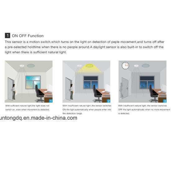 UKEW® PIR Sensor Ip44  360 Degree