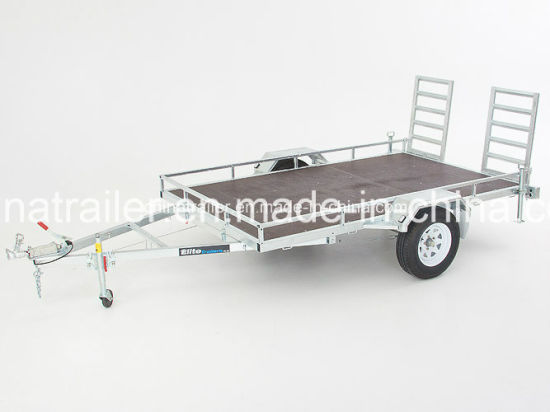 Hot Dipped Galvanized ATV Car Trailer pictures & photos