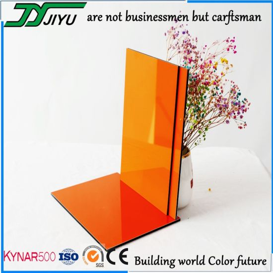 Jiyu Wall Cladding Decoration Aluminum Composite Panel