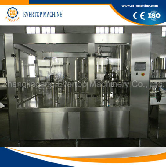 Pet Plastic Bottle Drinking Pure Mineral Water Filling Bottling Machine Plant
