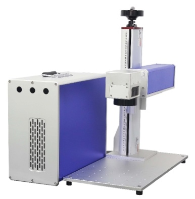 Desk Style Laser Marking Machine with Beam Path and Power Box