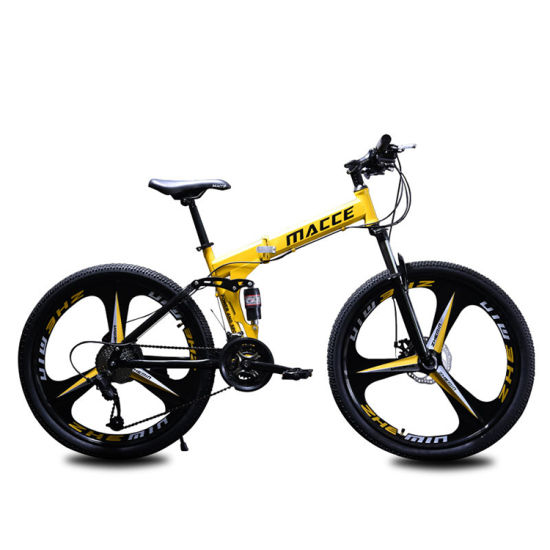 Hot Sale Factory Wholesale Mountain Bike 21/ 24/ 27 Speed Sepeda Gunung Suspensional Folding Bicicleta MTB