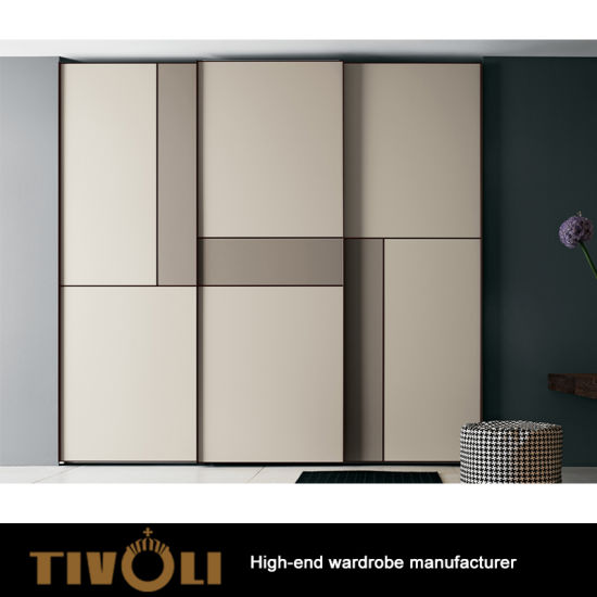 Fashion Design Wooden Walk In Closet Clothes Storage Wardrobe With Plywood Carc Good Quality Tv 0329