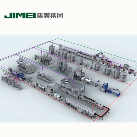High Quality Fully Automatic Ice Cream Making Machine Production Line Processing Plant pictures & photos