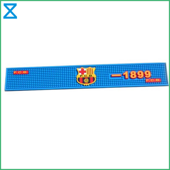 Professional Factory Supplying High Quality PVC Rubber Silicone Bar Mat for Bar Restaurant
