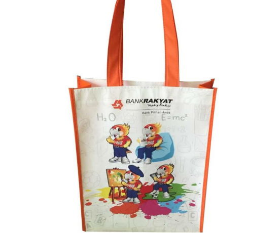 Wholesale Non-Woven Material Non Woven Tote Shopping Bags for Promotional 4ca64cb1d56c