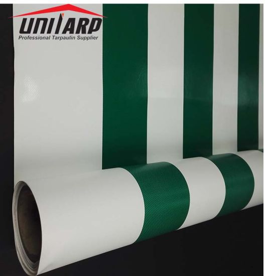 UV Resistance Durable PVC Laminated/Coated Tarpaulin Roll for Tent Awning