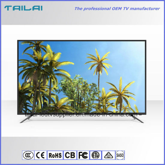 Huge Flat Screen 86 Inch Home 4K UHD Narrow Bezel LED Backlight TV
