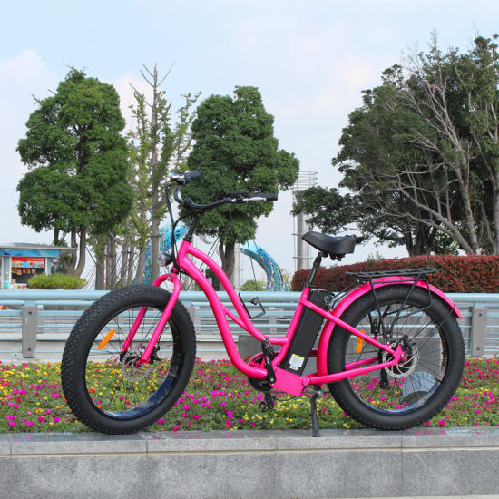 26inch Electric Bicycle for Lady Use pictures & photos