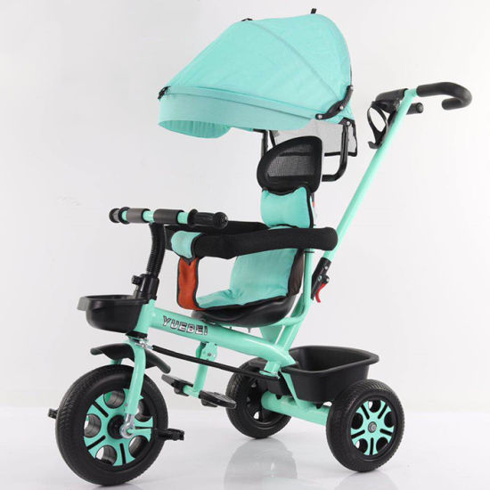 New Model Wholesale 3 Wheels Baby Tricycle / 360 Degree Rotation Kids Tricycle Children Trike