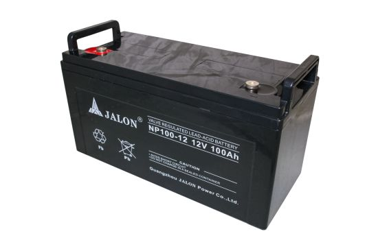 12V 100ah High Quality Rechargeable VRLA UPS Solar Battery for Wind Power System