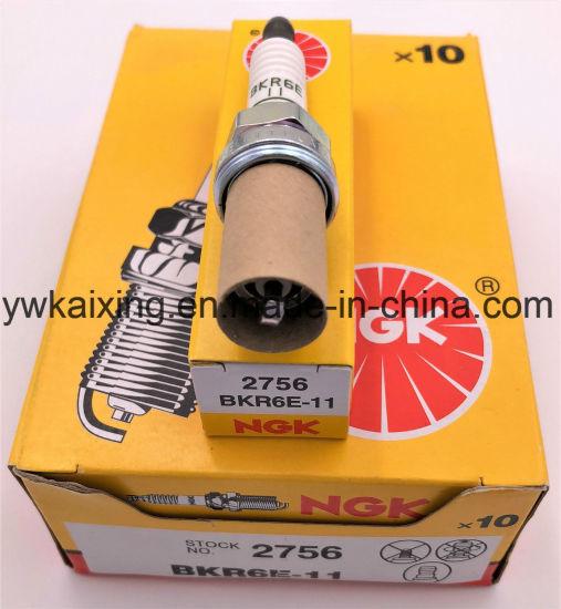 NGK Spark Plug BKR6E-11 NGK2756 x10