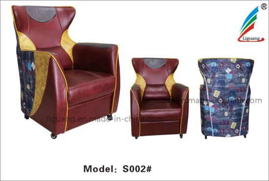China Fashion Faux Leather Home Furniture Lift Adjustable Recliner