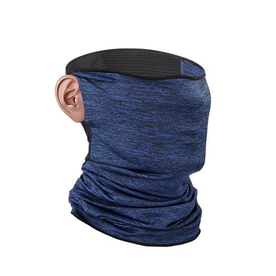 Manufacturer Women Men Earloops Seamless Sunscreen Magic Elastic Neck Scarf Face Sports Turban Tubular Anti-UV Bandana