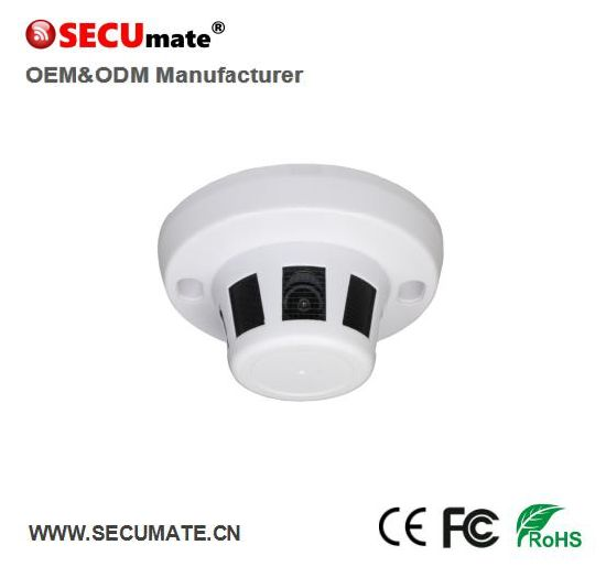 China 5mp Tvi Ahd Cvi Hd Coaxial Smoke Detector Type Security Cctv