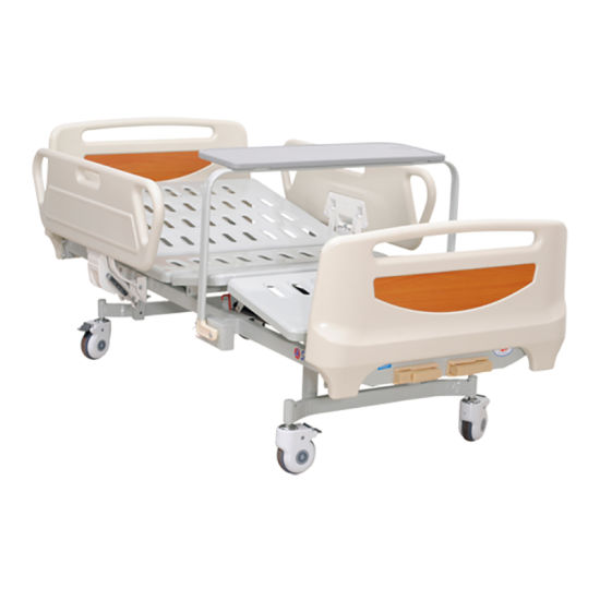 2 Functions Hospital Folding Medical Clinic Patient Adjustable Bed