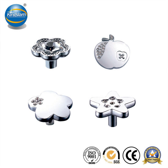 Furniture Hardware Zinc Crystal Door Knob with Reasonable Price pictures & photos