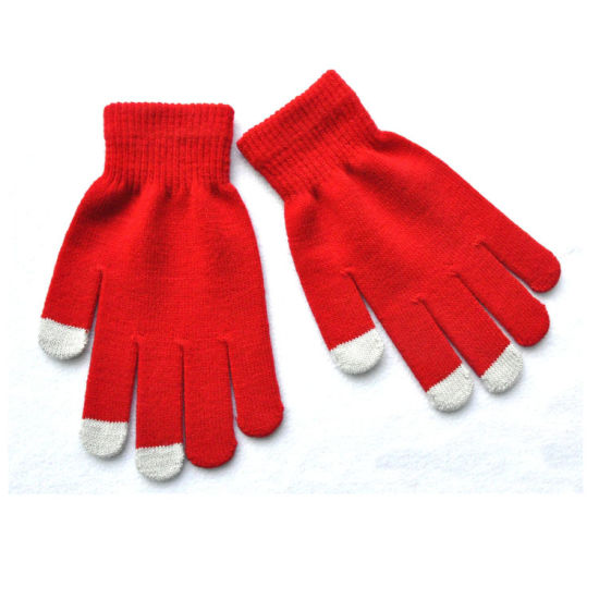 4745241d5 Cheapest Knitted Winter Touchscreen Phone Gloves pictures & photos