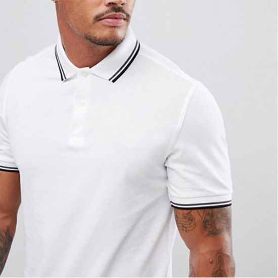 fda458e63 China Summer Wear Classic Contrast Soft Breathable Polo Shirts for ...