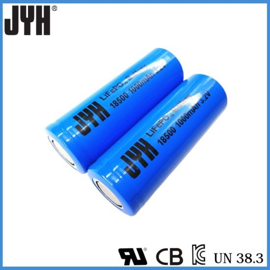 Rechargeable Lifepo4 Battery 18500
