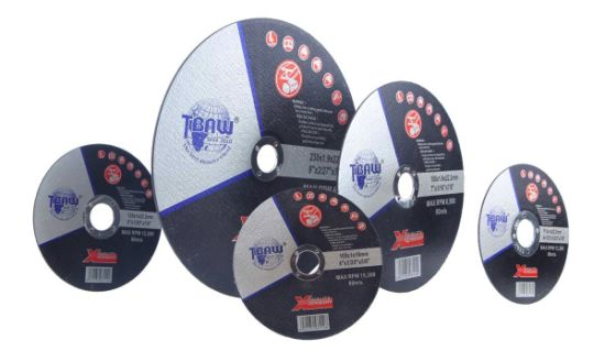 "Factory Directly Sell 7"" 180X1.6X22mm T41 Super Thin Cutting Disc for Metal"